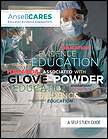 Click here to download PDF file of Hazards Associated with Glove Powder